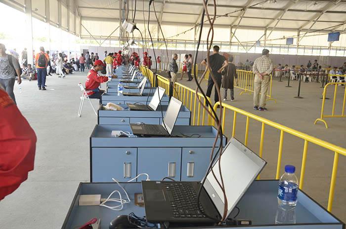上线的票务管理系统使用我公司华旭J15S身份证阅读器